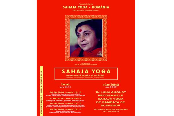 Sahaja yoga octombrie 2014