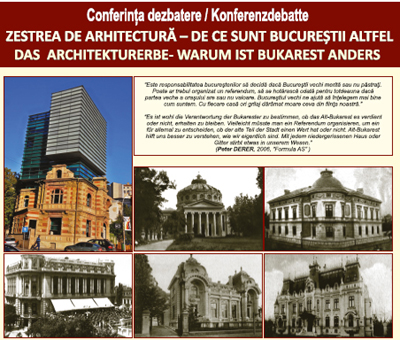 Zestrea de arhitectură – de ce sunt Bucureștii altfel