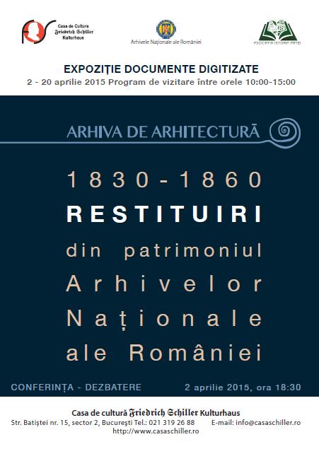 Expozitie documente digitalizate