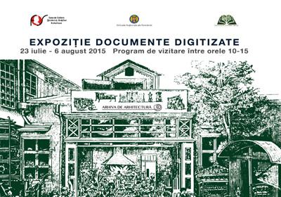 Expozitie documente digitizate