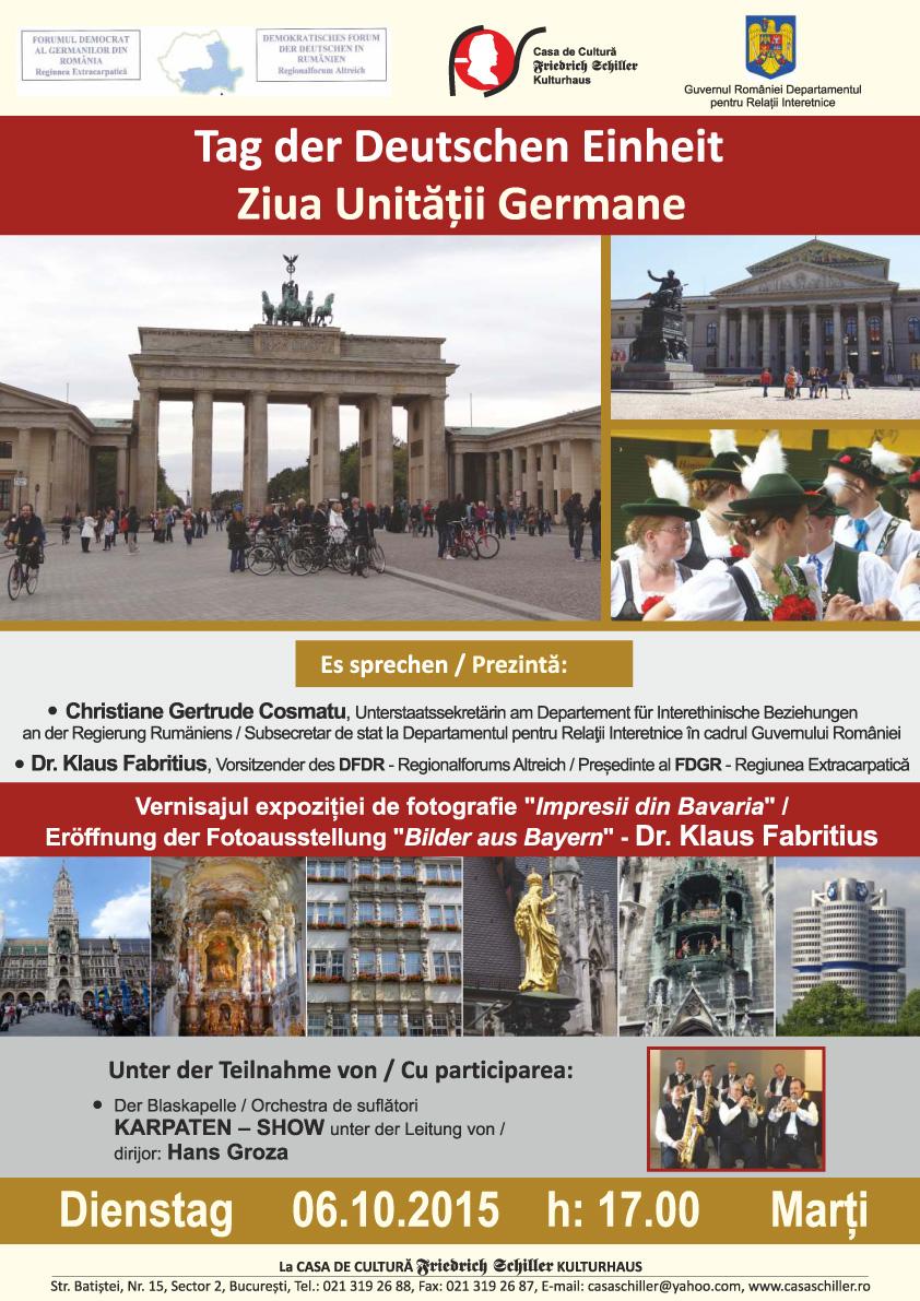 Tag der Deutschen Einheit_Ziua Germaniei