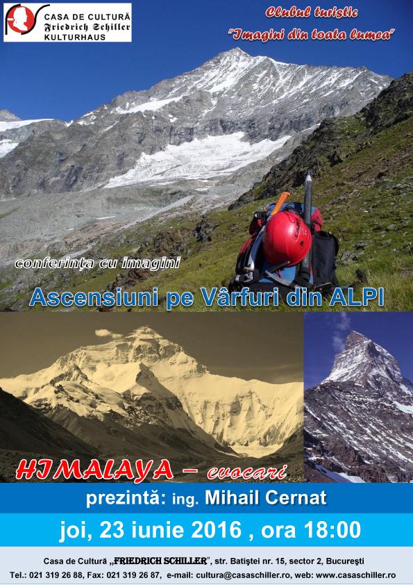 Acensiuni pe Varfuri din Alpi