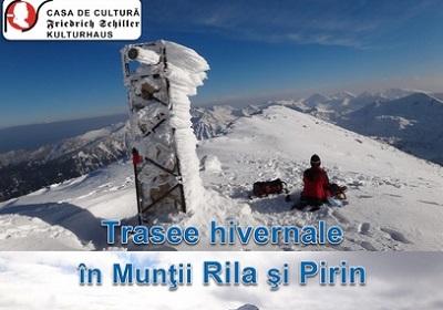 Trasee hivernale in Muntii Rila si Pirin