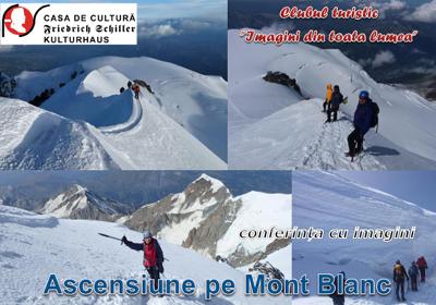 Ascensiune pe Mont Blanc