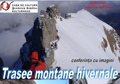 Trasee montane hivernale