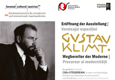 Gustav Klimt. Precursor al modernitatiii