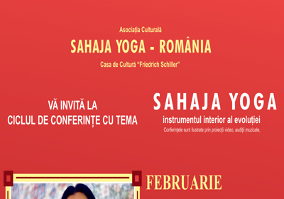 Sahaja Yoga / program martie