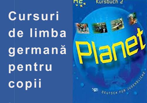 Cursuir de limba germana pentru copii