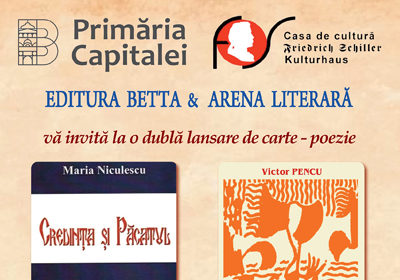 Arena literara 19 septembrie