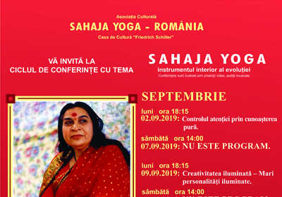 Sahaja Yoga - septembrie_x 2019