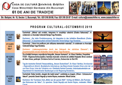 Program cultural_octombrie 2019